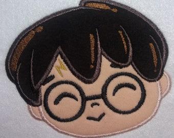 Harry potter applique etsy
