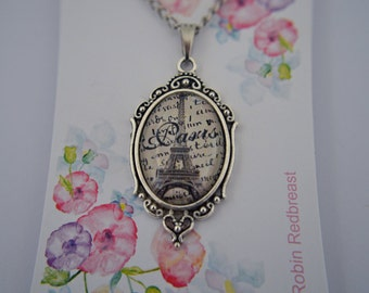 Paris Eiffel Tower necklace