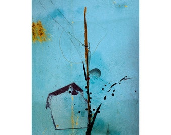 Abstract Collage Giclee Print