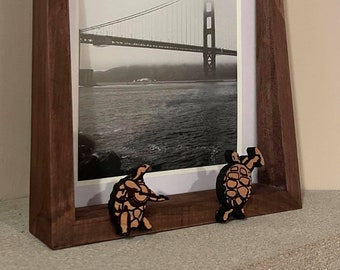 Terrapin Station Grateful Dead Theme 5x7 Picture Frame Dancing Turtles