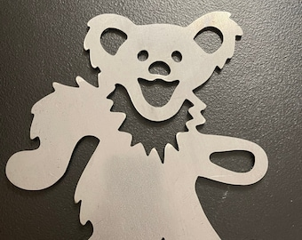 Cut Steel Dancing Bear Decor Grateful Dead Metal