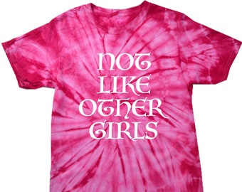 Dead and Company Grateful Dead Not Like Other Girls Tye Dye T-Shirt
