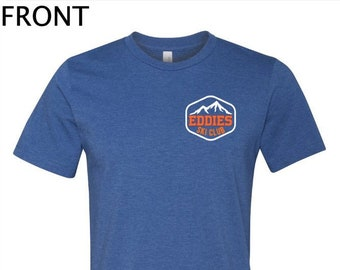 Edwardsburg Eddies Ski Club T-Shirt Spirit Wear Short or Long Sleeve