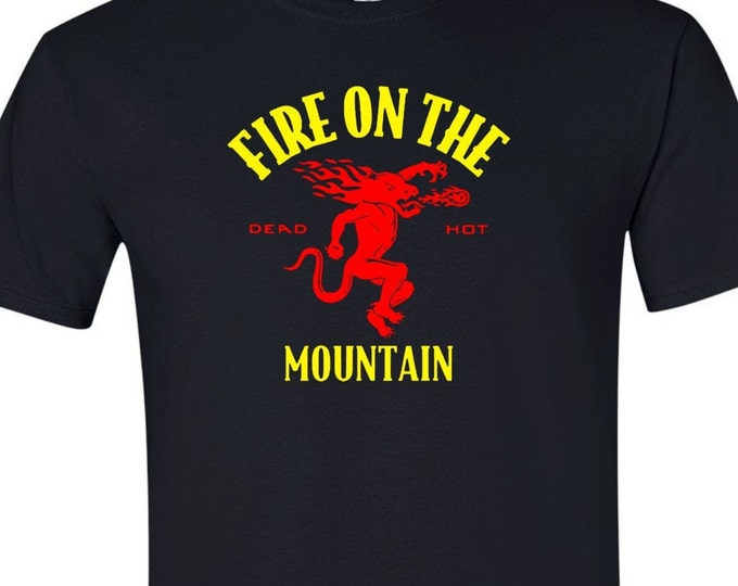 Dead and Company Fireball Fire on the Mountain Shirt Grateful Dead