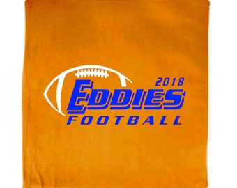 Edwardsburg Eddies 2018 Football Rally Spirit Towel
