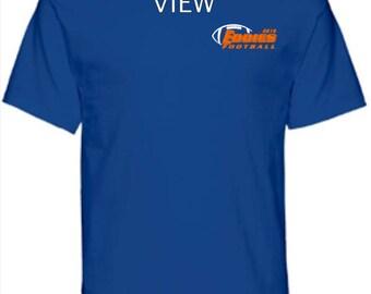 Edwardsburg Eddies 2018 Football T-Shirt Unisex and Youth Sizes Short Sleeve or Long Sleeve