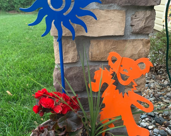 Plasma Cut Steel Sun Garden Decor Grateful Dead Lyrics Metal