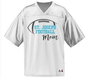 St. Joseph High School Indians Replica Football Jersey