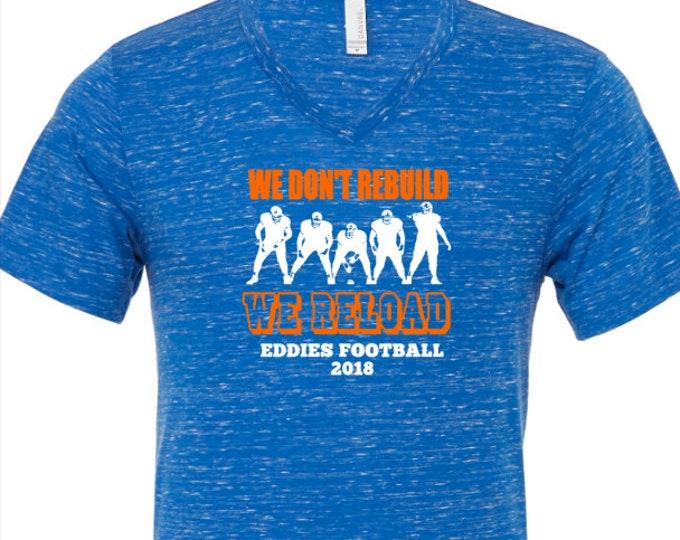Edwardsburg Eddies High School Football Mom T-Shirt 2018 or team of your choice