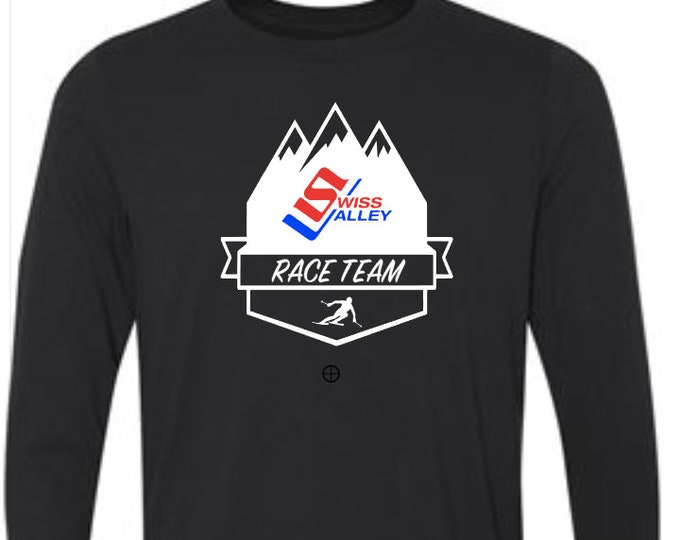 Swiss Valley Ski Race Team Long Sleeve Performance T-Shirt