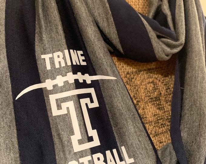 Trine University Football Infinity Scarf