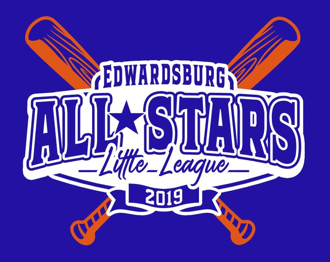 Edwardsburg Little League All Stars T-Shirt Adult Unisex