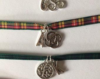 Tartan jewellery