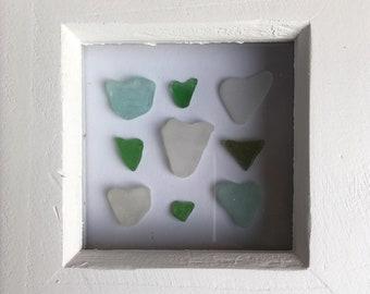 Seaglass & pottery art