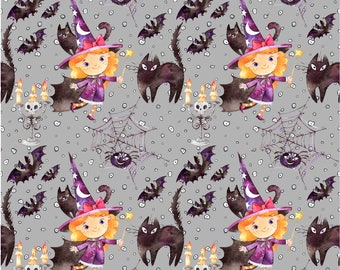 Halloween fabric, Bunting Halloween, Halloween FQ, Halloween decoration, Bunting Halloween, Halloween Banner, Halloween Party