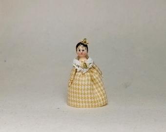Mini Doll Peg 1:12 scale. 20 mm high