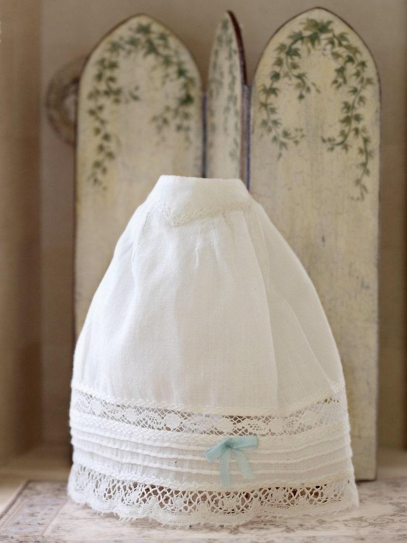 Petticoat dollhouse lignerie. Handmade scale 1:12. image 0