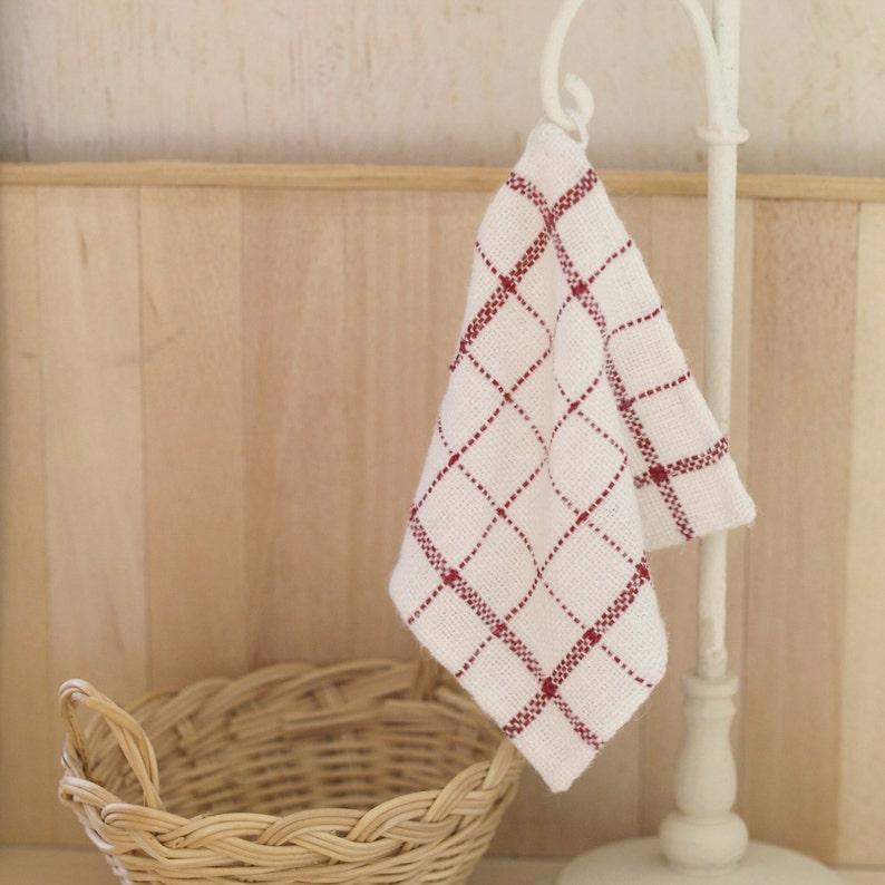 Miniature kitchen cloth scale 1:12 image 0
