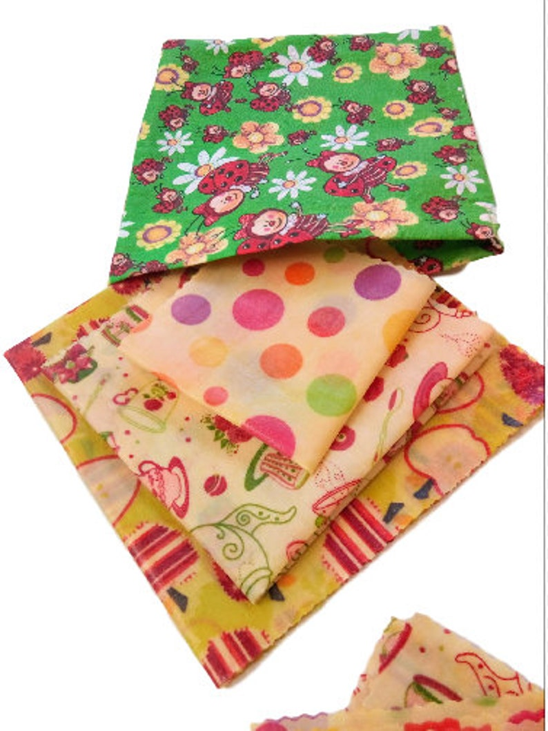 Reusable Food Wraps, Storage Bag Gift, Alternative To Plastic Wrap