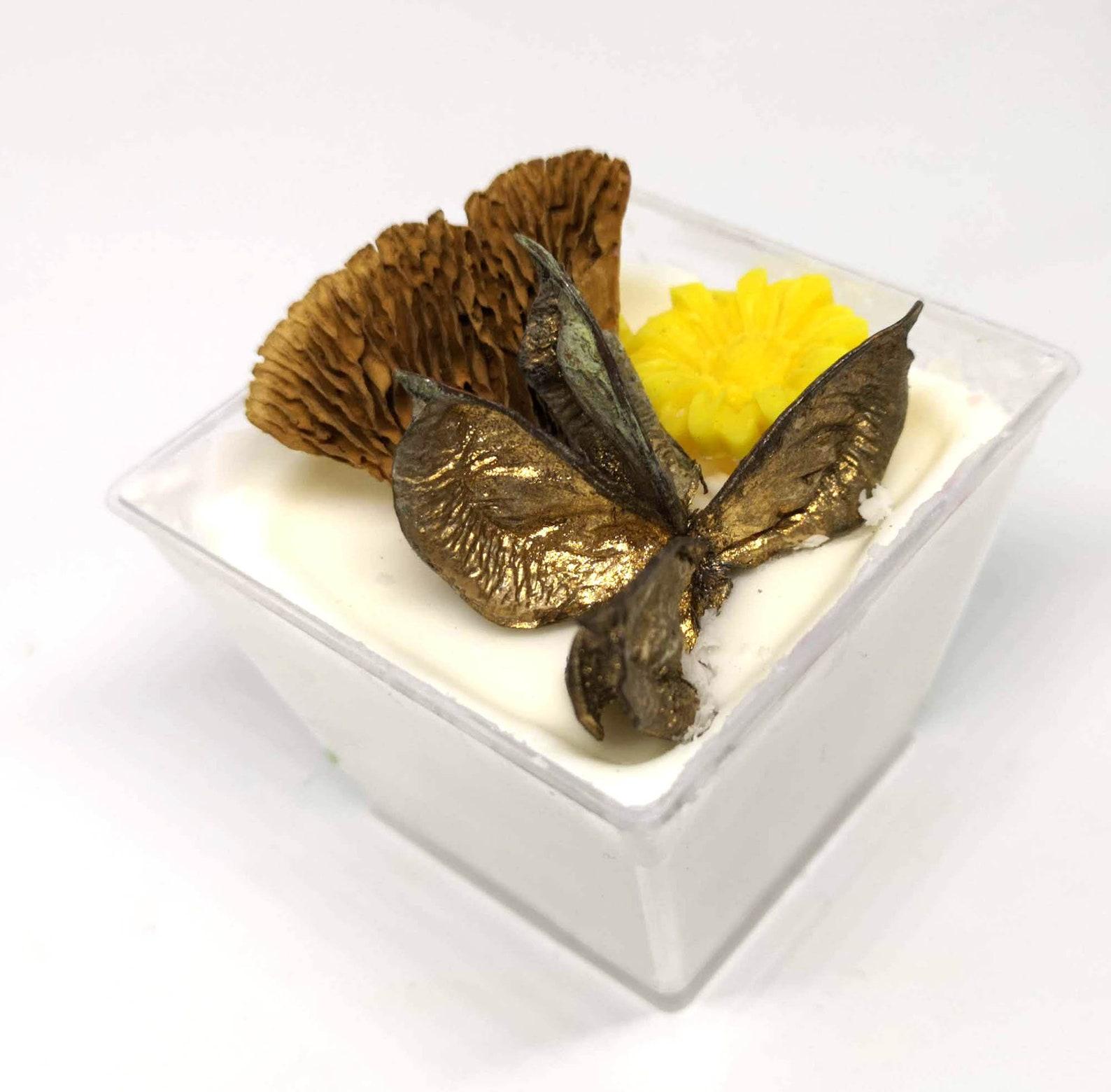 Scoopable pot wax melt