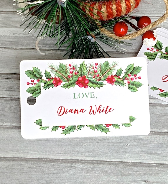 Christmas In July Gift Tags.Christmas Tags Labels For Presents Personalized Christmas Gift Tags Christmas In July Set Of 12