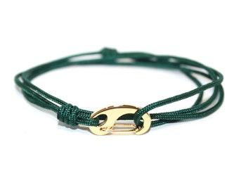 The Cord + Hook 2.0 Wrap Bracelet // Cord and Hook Wrap Bracelet, Rope Bracelet, Hook Bracelet, Cord Bracelet, Rope Bracelet Wrap