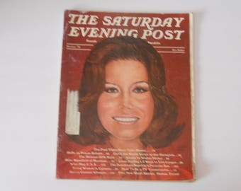 Saturday Evening Post:  Oct '74 featuring Mary Tyler Moore