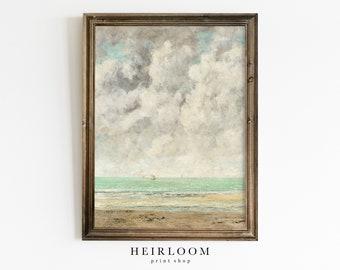 Art Painting Original Modern Print Beach seascape swimsuit Andy Baker Australia