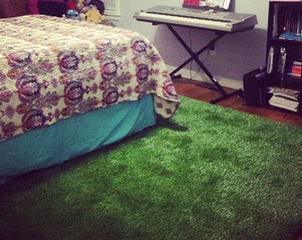 4' x 6' Synthetic Grass Rug