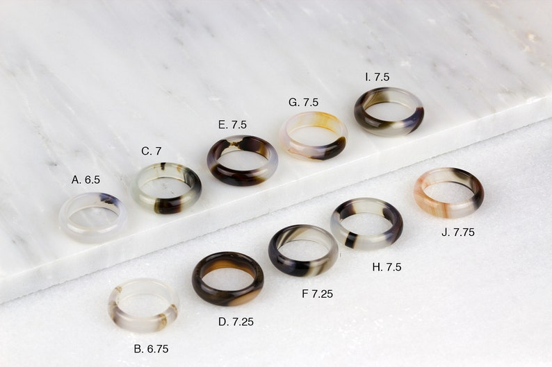 Plume Agate Ring Lace Agate Ring Mens Agate Ring Mens Stone Ring Plume Agate Jewelry