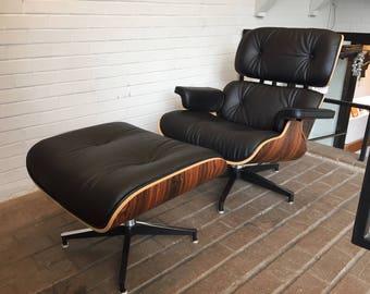 Eames Lounge Stoel : Eames lounge chair etsy