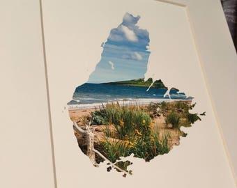 West Mabou Beach, Cape Breton Island, giclee art print
