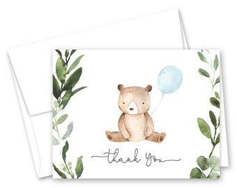 thank you cards baby