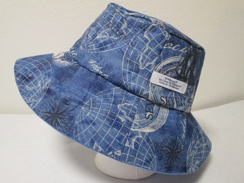 7fd7e1f39c0 Bucket Hat 24 XLarge Globe World MapTravel hat Road