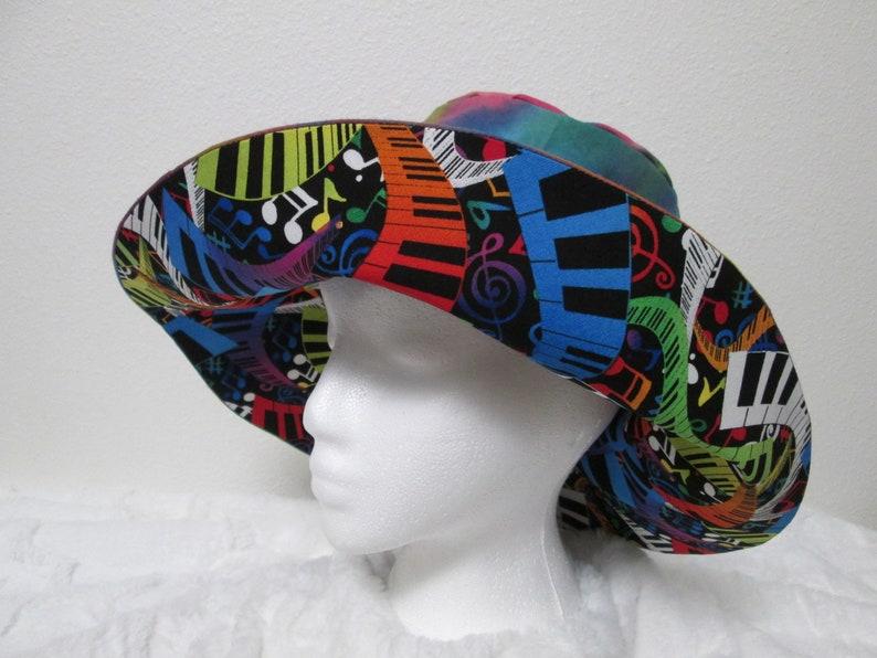 4fea4e8feb967 Bucket hat 3XL 26 inch hat XXXL Sun hat Pride Musical hat
