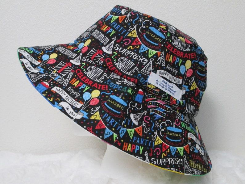 Bucket Hat 25 XXLarge Birthday Happy