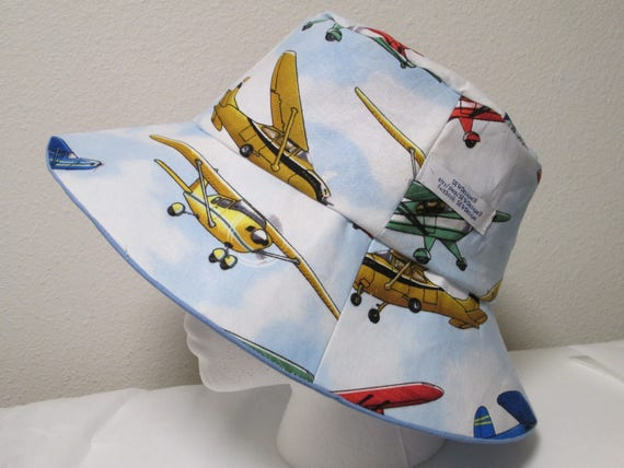 Bucket Hat 24 XLarge Airplane hat Harrison Ford Flying  f3f1afc354d