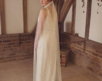 0228365bef Soft wedding veil