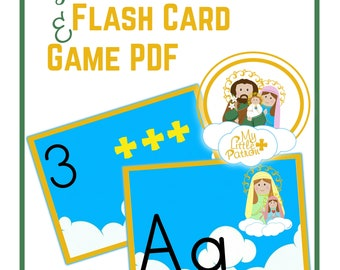 My Little Patron Flash Card and Game PDF