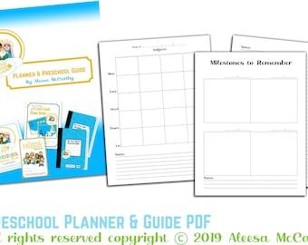 Preschool Planner & Guide PDF