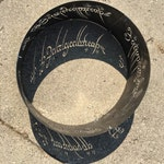 Fire Ring to Rule them All, LOTR fire ring, Fire pit, Lord of the Rings, Mythology, Outdoor, Patio, Deck, Decor, Backyard