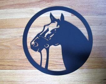 Horse Head Metal Art,farmhouse decor,Horse gifts, Horse metal art, horse wall decor, horse home decor, horse wall art, horse wall hanging