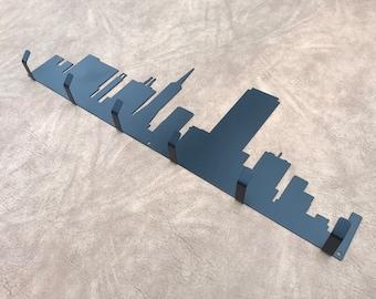 San Francisco California Skyline Mask Holder Hook Wall Coat Key Jacket Hooks Home Decor Gift