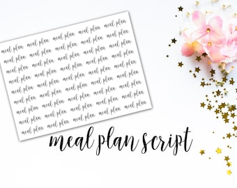 Script Holidays Functional Planner Stickers for use with | Etsy