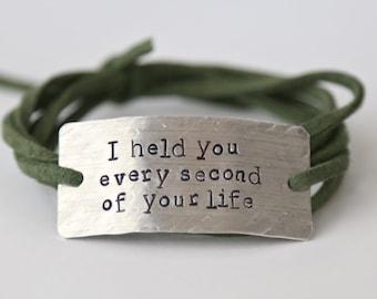 memorial bracelet, infant loss jewelry, miscarriage jewelry, infant loss gift, baby memorial jewelry, loss,  memorial jewelry, baby memorial