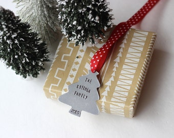 personalized christmas ornament,family ornament, ornament gift,  personalized ornament, newlywed gift, custom ornament, bride to be