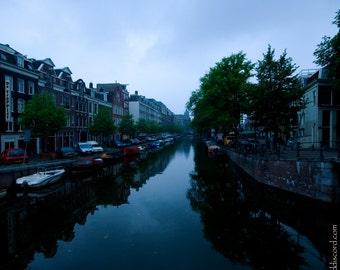 "Fine Art Photography Print- ""Amsterdam Canal II"""