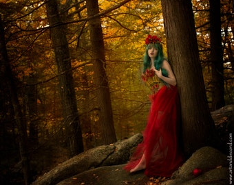 """Limited Edition: """"Persephone Returns"""" Fine Art Print from The Female Archetype Project"""