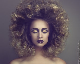 """Fine Art Photography Print """"Ombre Afro"""""""