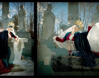 "Fine Art Photography Print- ""Sainted Diptych"""